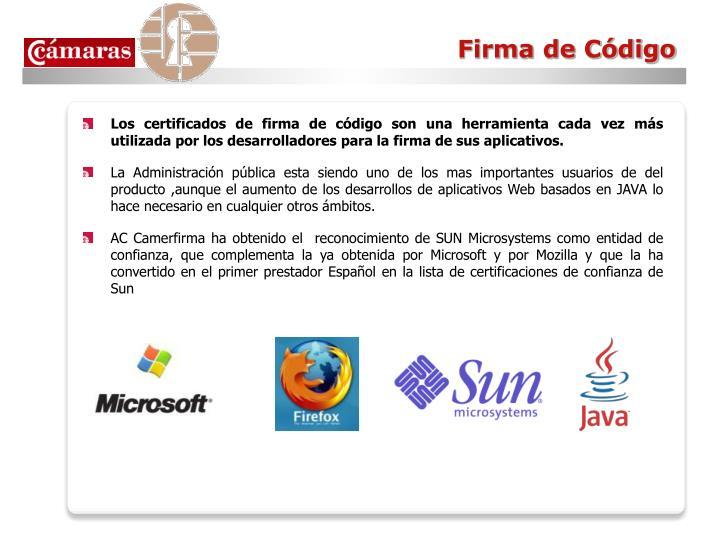 Firma de Código