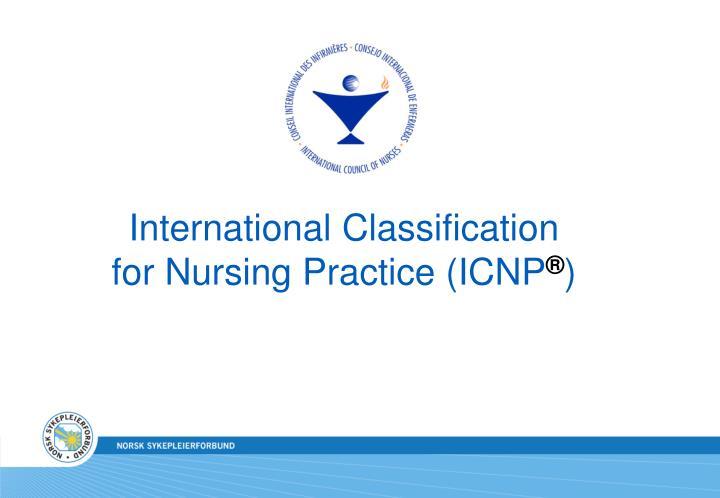 International Classification