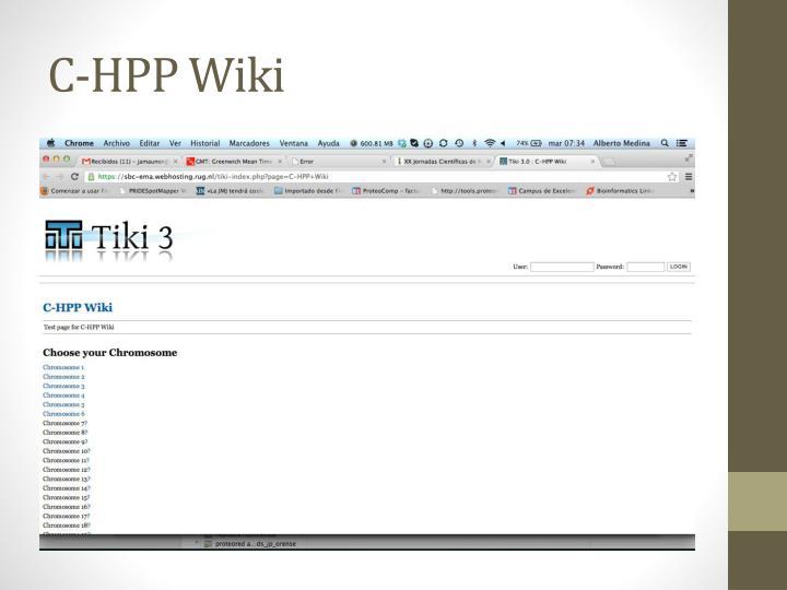 C-HPP Wiki