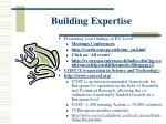 building expertise1