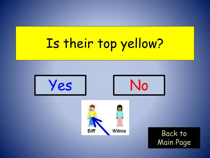 Is their top yellow?