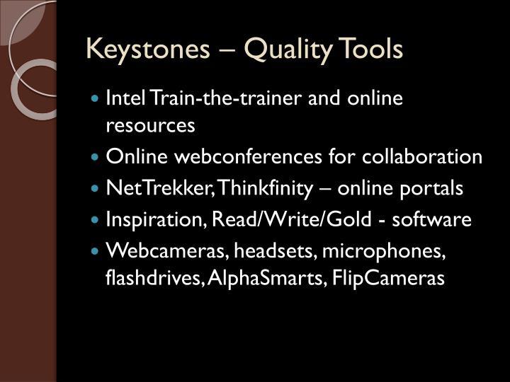 Keystones – Quality Tools