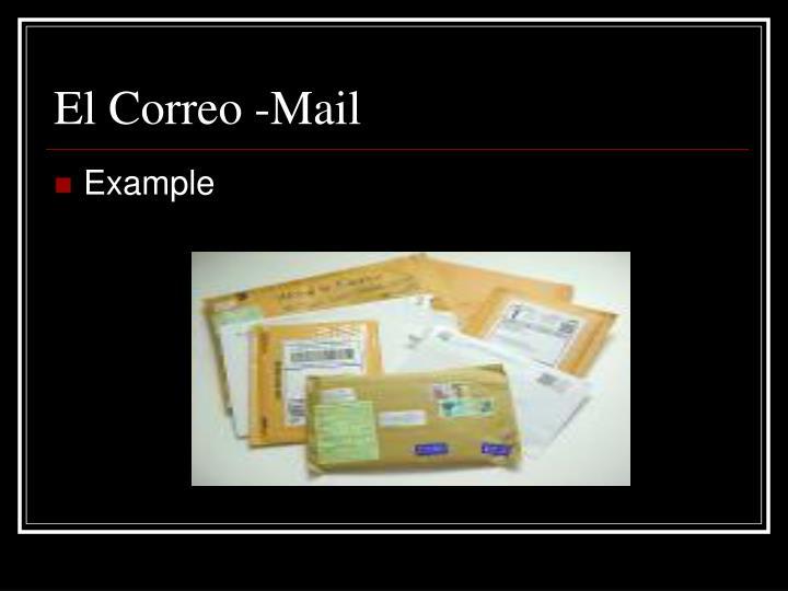 El Correo -Mail