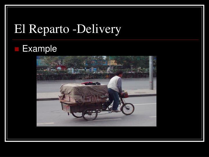 El Reparto -Delivery