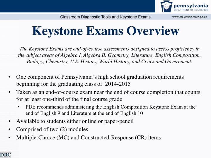 Keystone exams overview