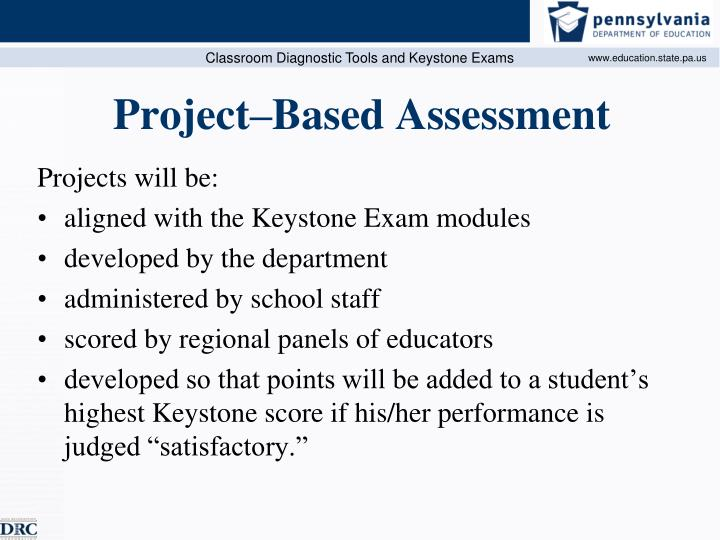 Project–Based Assessment