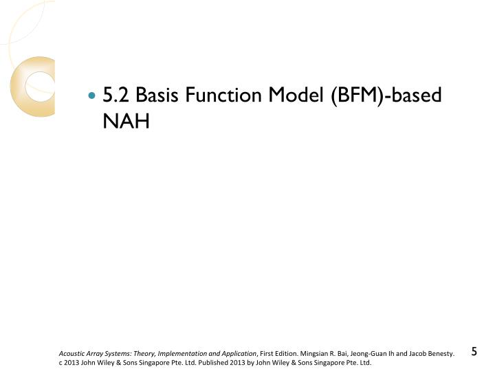 5.2 Basis Function Model (BFM)-based NAH