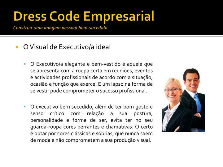 Dress Code Empresarial