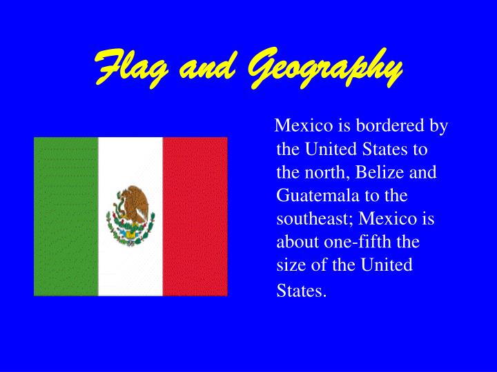 Flag and Geography
