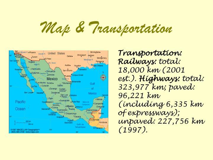 Map & Transportation