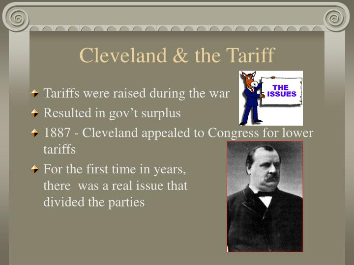 Cleveland & the Tariff