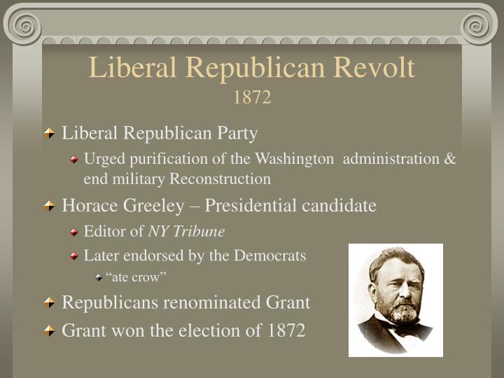 Liberal Republican Revolt
