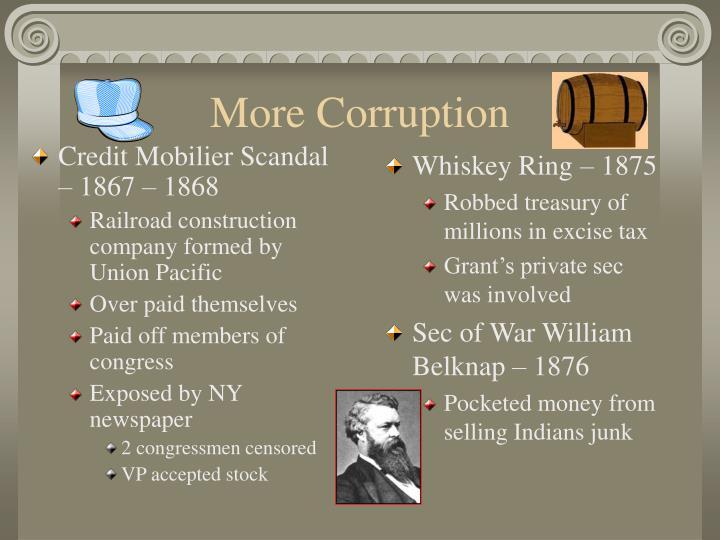 Credit Mobilier Scandal – 1867 – 1868