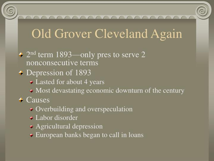 Old Grover Cleveland Again