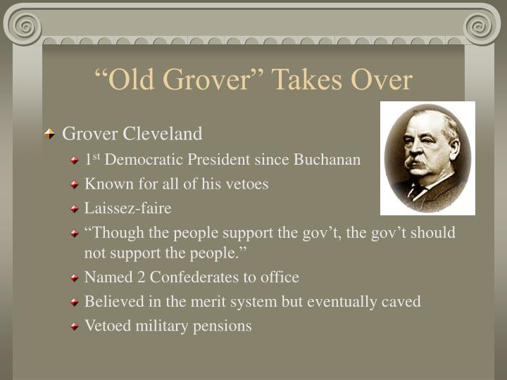 """Old Grover"" Takes Over"