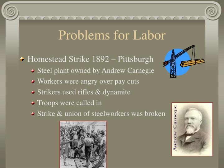 Problems for Labor