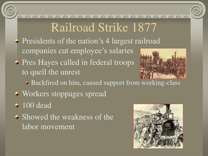 Railroad Strike 1877
