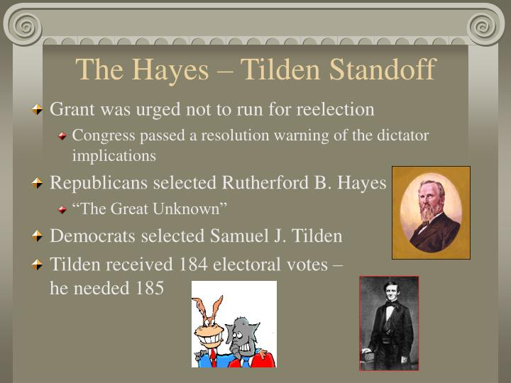 The Hayes – Tilden Standoff