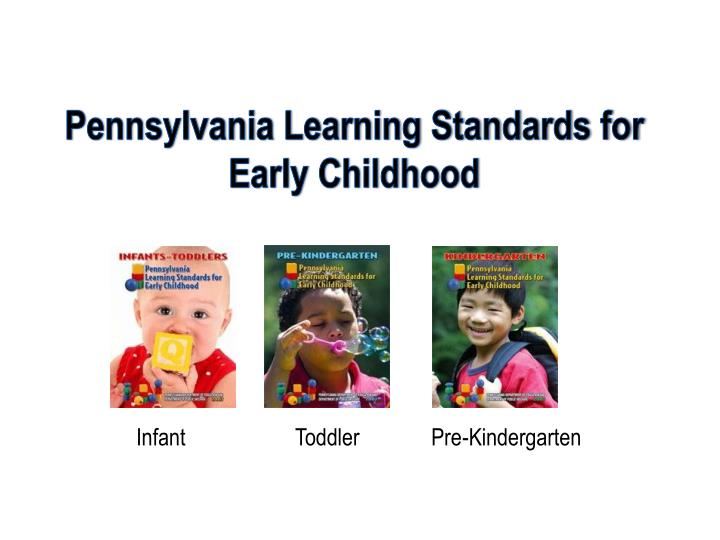 Pennsylvania Learning Standards for