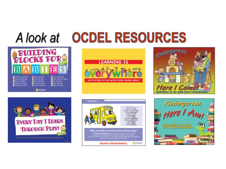 OCDEL RESOURCES