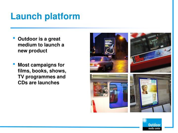 Launch platform