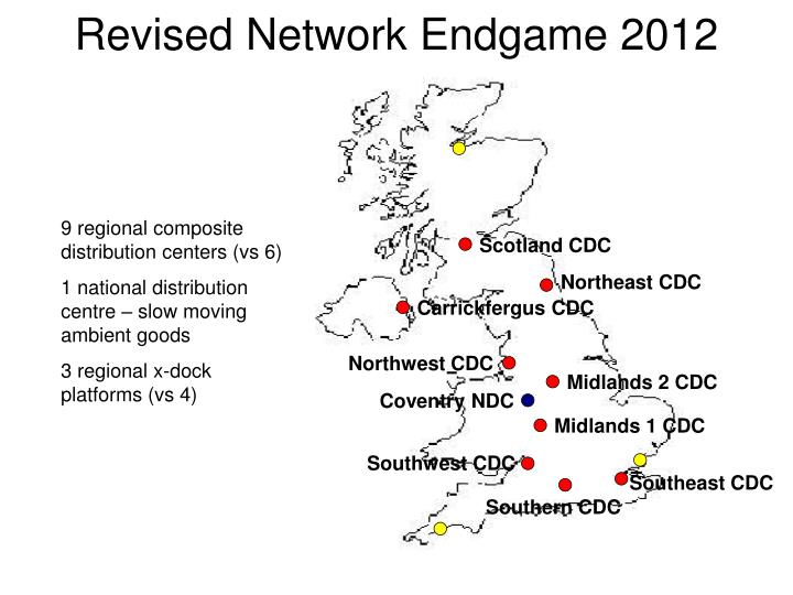 Revised Network Endgame 2012