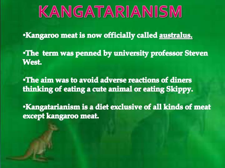 KANGATARIANISM