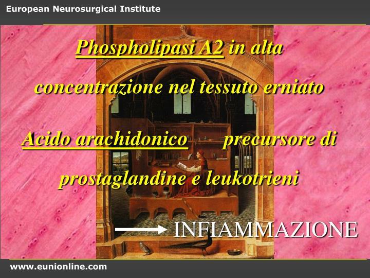 Phospholipasi A2