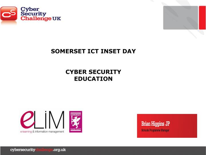 SOMERSET ICT INSET DAY