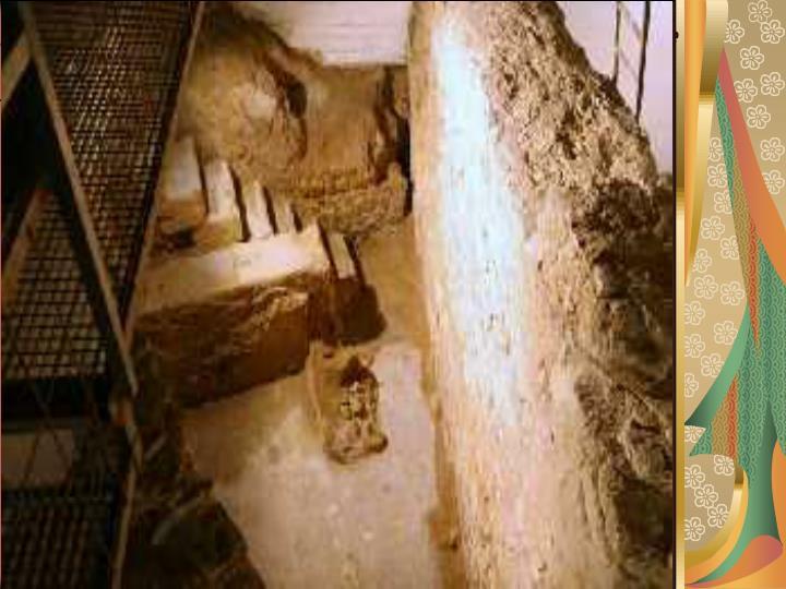 Los restos que nos quedan en la Región de la presencia Bizantina son los siguientes: