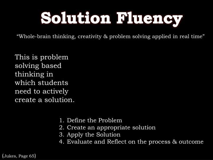 Solution Fluency