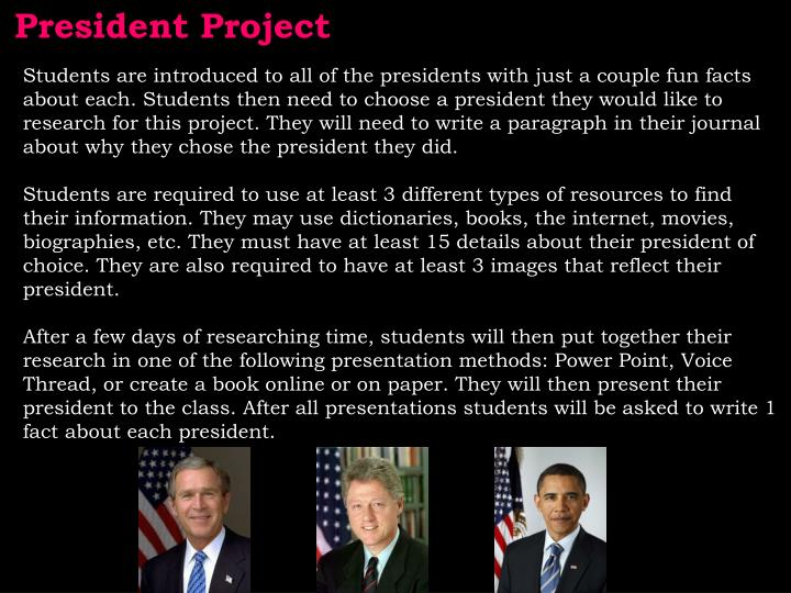 President Project