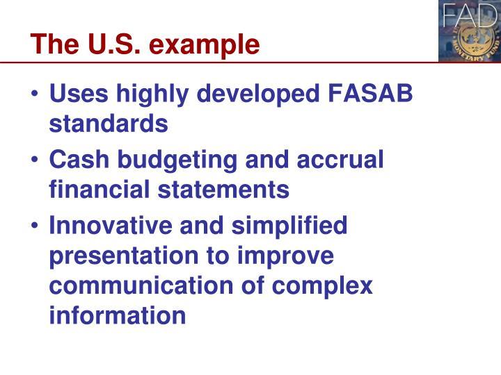 The U.S. example