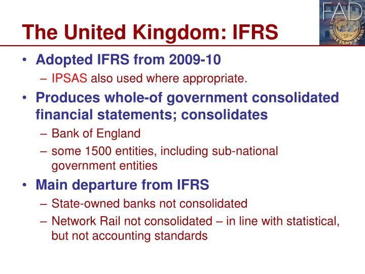The United Kingdom: IFRS