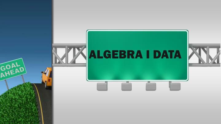 Algebra I Data