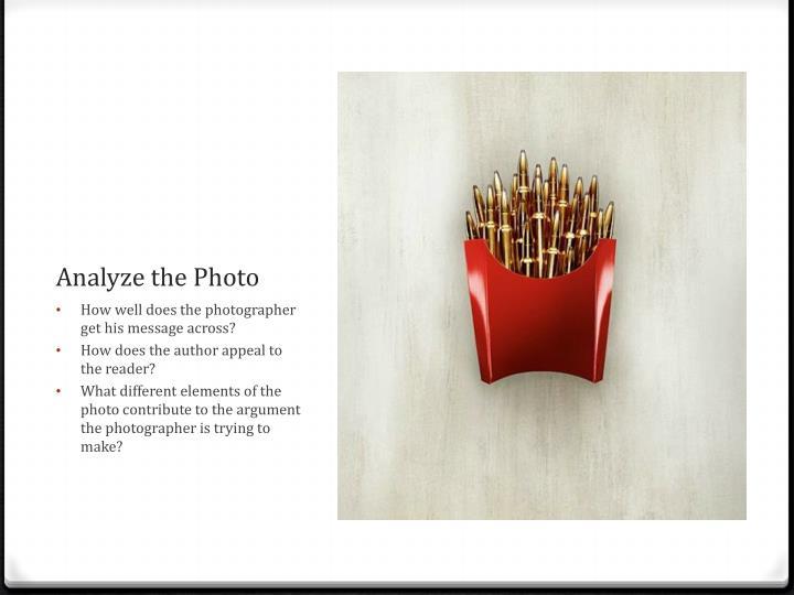 Analyze the Photo