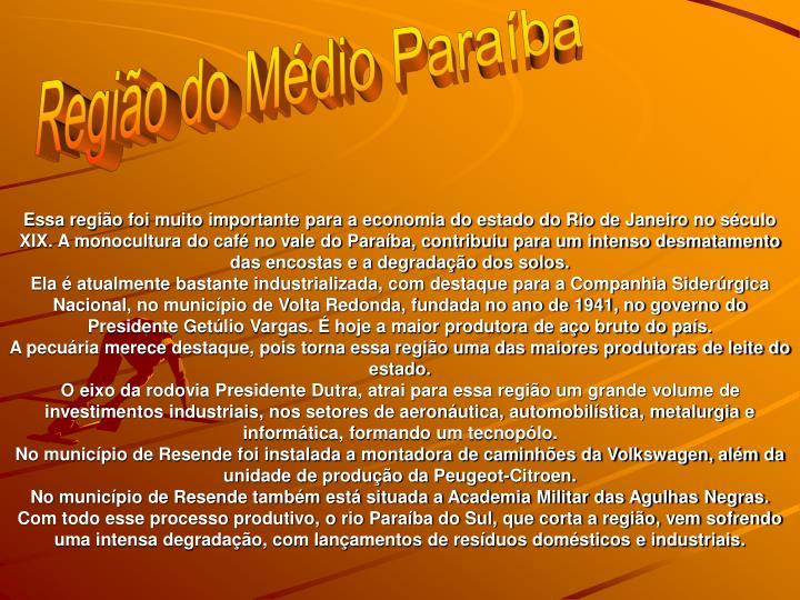 Regio do Mdio Paraba