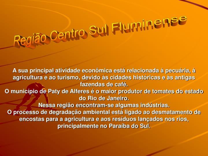Regio Centro Sul Fluminense