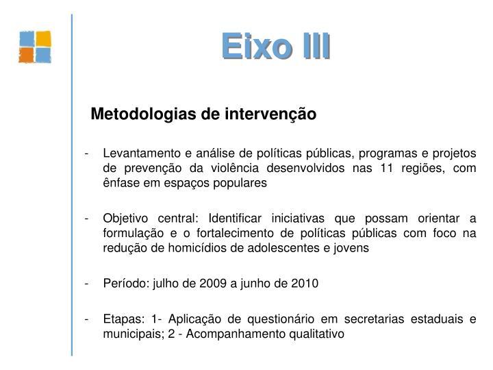 Eixo III