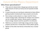 future of the physics department8