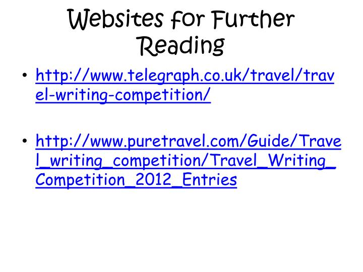 Websites for Further Reading