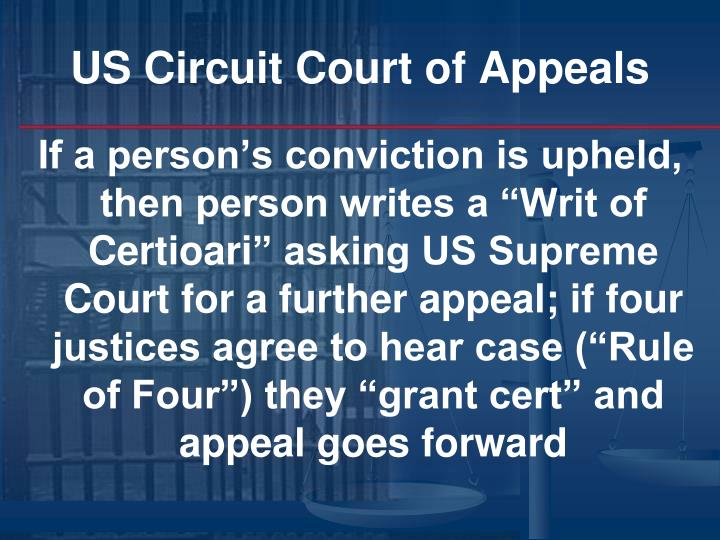 US Circuit Court of Appeals