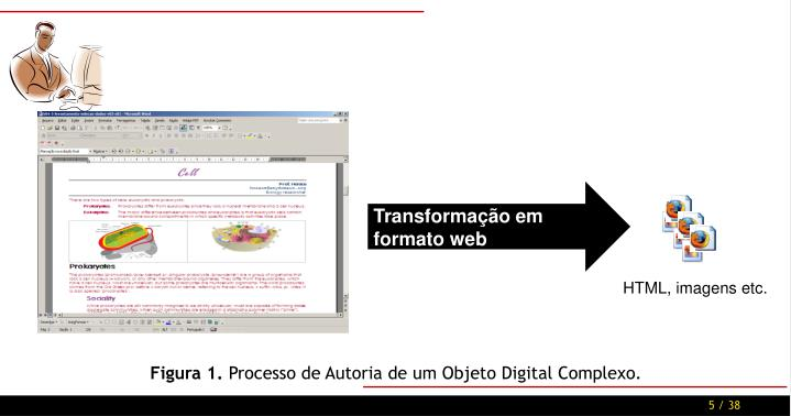 Transformação em formato web