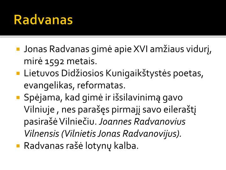 Radvanas