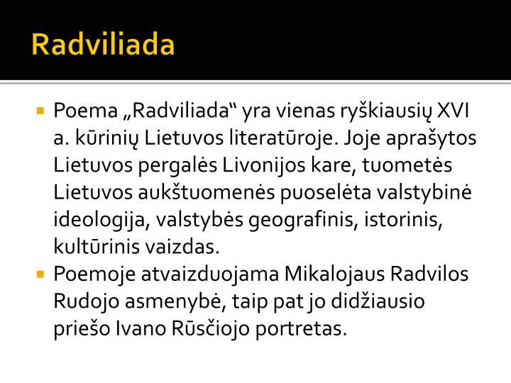 Radviliada
