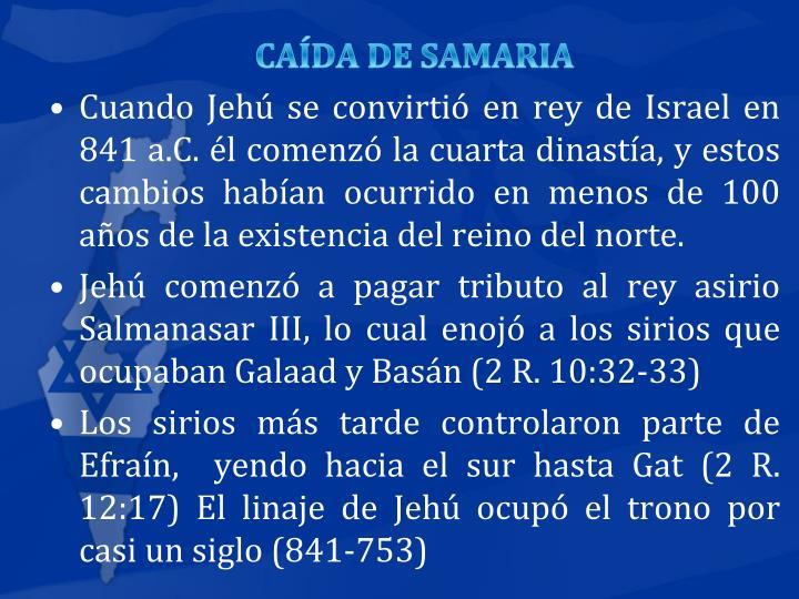 CADA DE SAMARIA