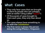 what cases