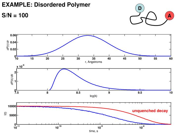 EXAMPLE: Disordered Polymer