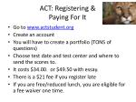 act registering paying for it