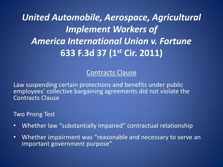 United Automobile, Aerospace, Agricultural Implement Workers of
